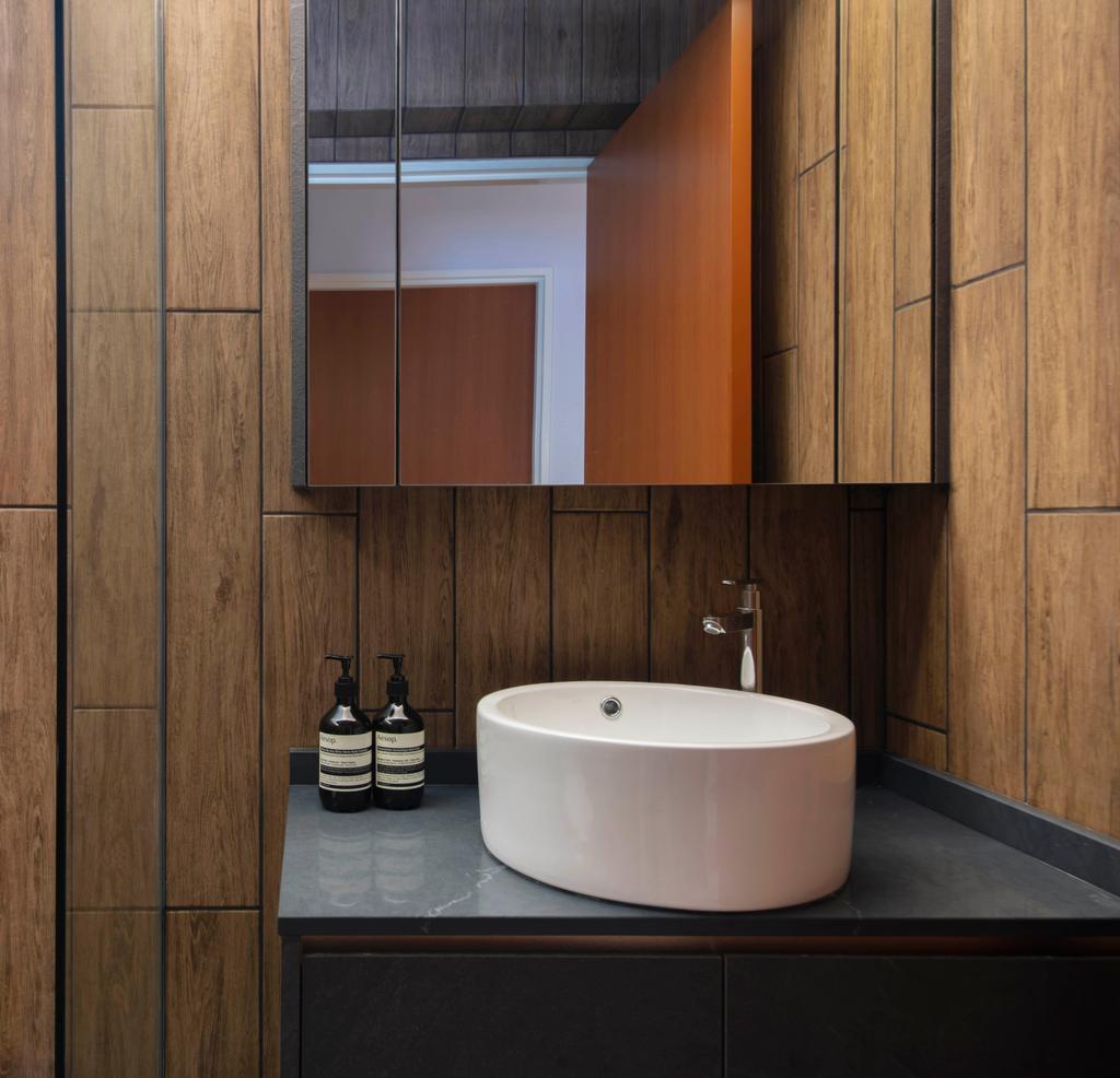 Contemporary, HDB, Bathroom, Bukit Batok West Avenue 8, Interior Designer, KDOT