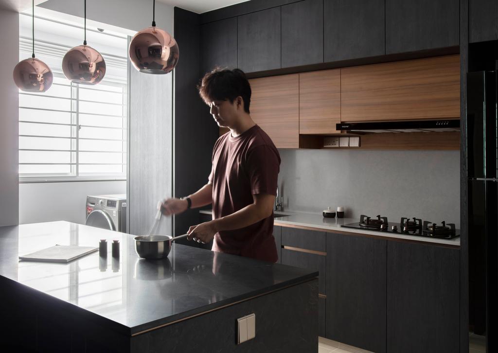Contemporary, HDB, Bukit Batok West Avenue 8, Interior Designer, KDOT