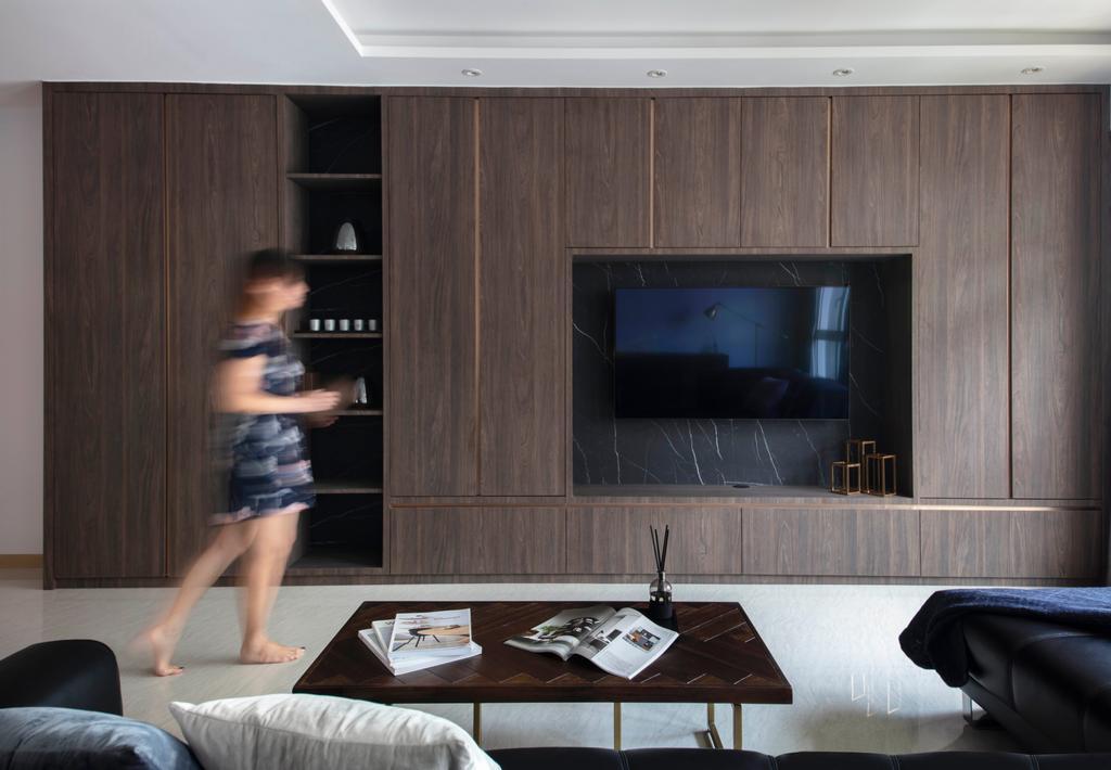 Contemporary, HDB, Living Room, Bukit Batok West Avenue 8, Interior Designer, KDOT