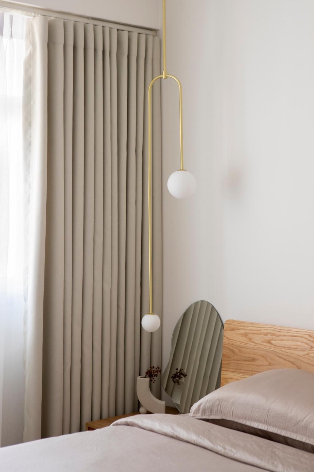 Scandinavian, HDB, Bedroom, Buangkok Link, Interior Designer, Ascend Design