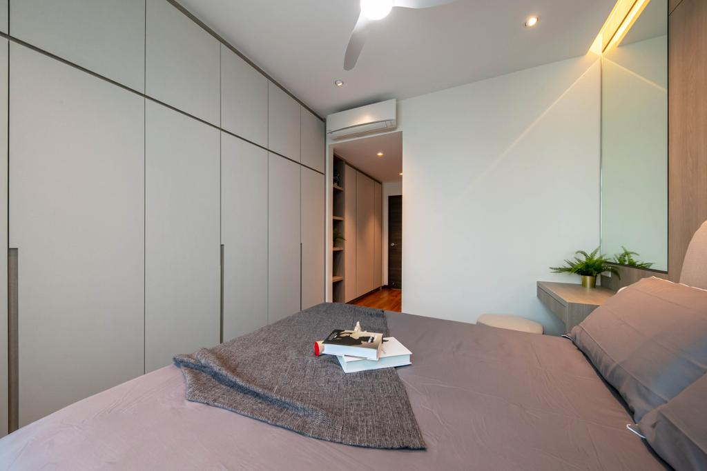 Modern, Condo, Bedroom, The Woodgrove, Interior Designer, Space Atelier, Contemporary