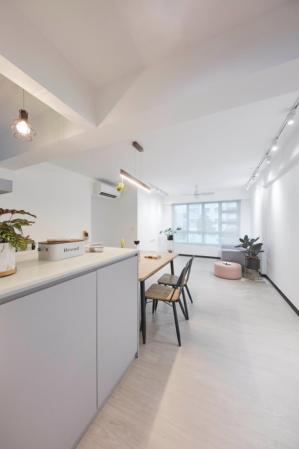 Contemporary, HDB, Kitchen, Telok Blangah Street 31, Interior Designer, i-Chapter, Scandinavian