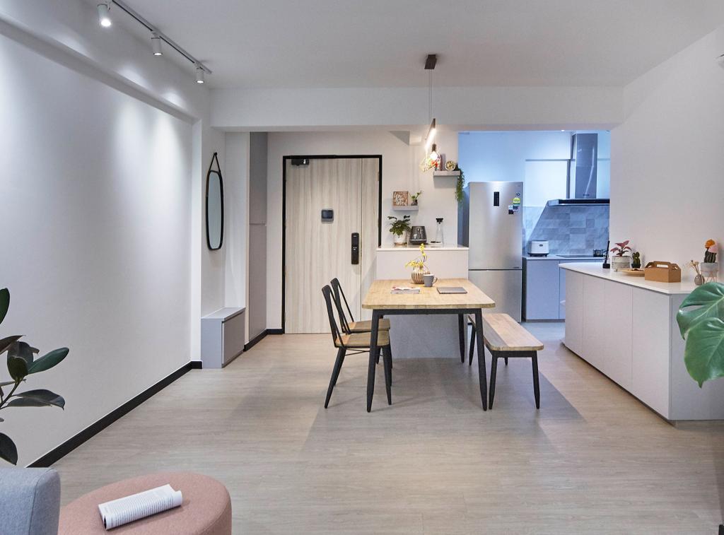 Contemporary, HDB, Living Room, Telok Blangah Street 31, Interior Designer, i-Chapter, Scandinavian