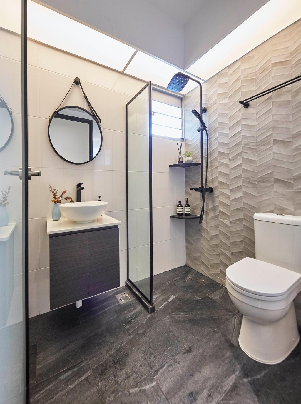 Contemporary, HDB, Bathroom, Telok Blangah Street 31, Interior Designer, i-Chapter, Scandinavian