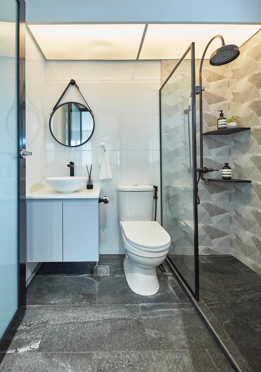 Contemporary, HDB, Bathroom, Telok Blangah Street 31, Interior Designer, i-Chapter, Scandinavian