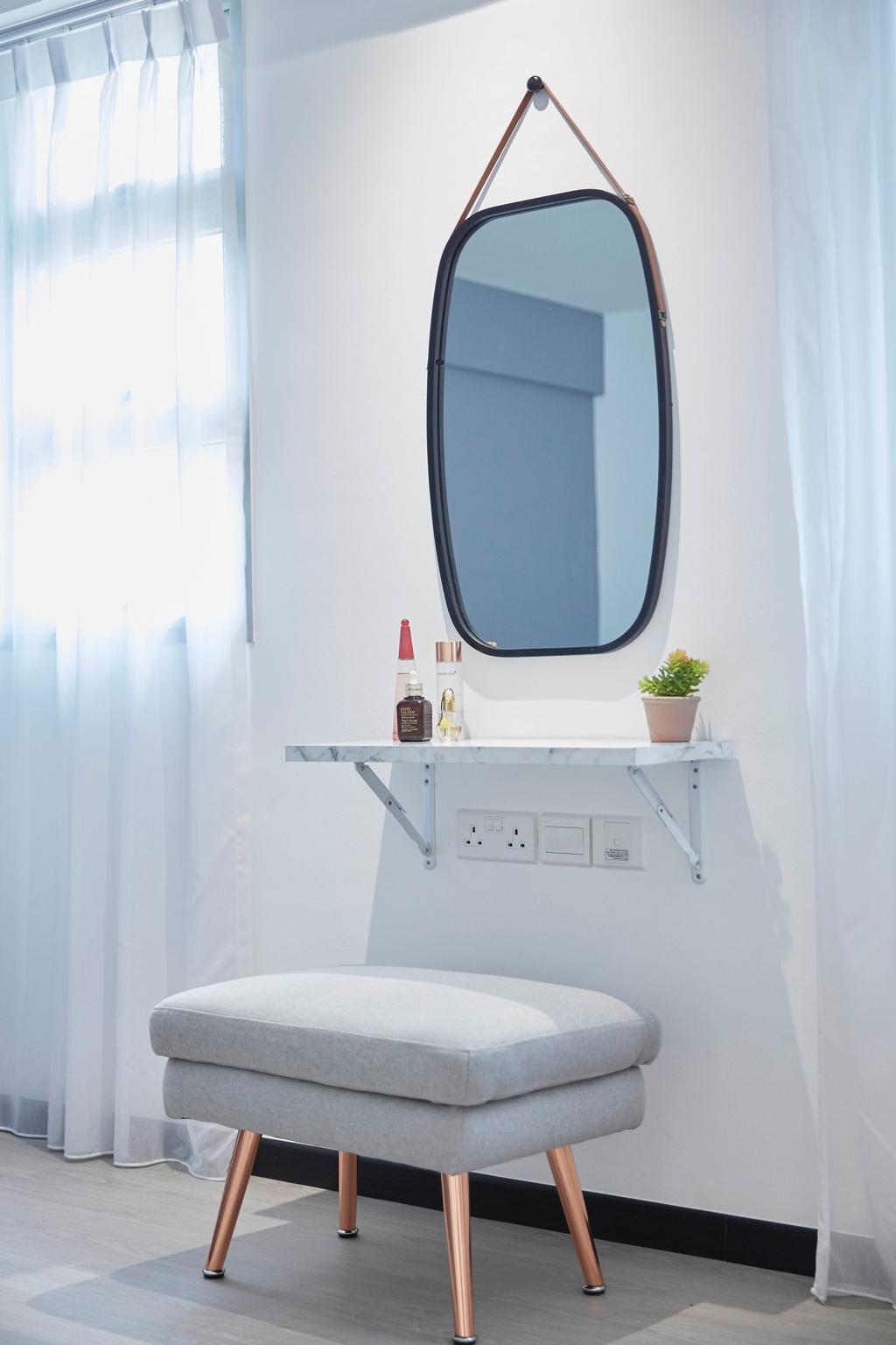 Contemporary, HDB, Bedroom, Telok Blangah Street 31, Interior Designer, i-Chapter, Scandinavian