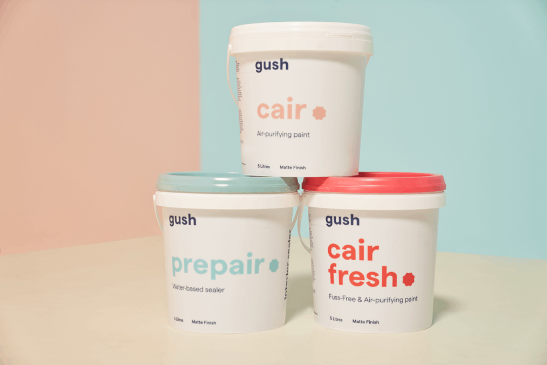 gush air-purifying paint for home office