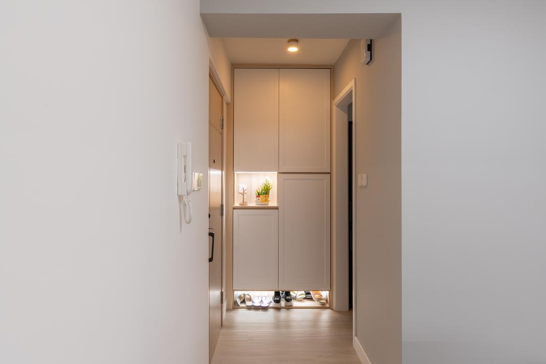 愉翠苑, X Ka Design, 北歐, 簡約, 客廳, 私家樓
