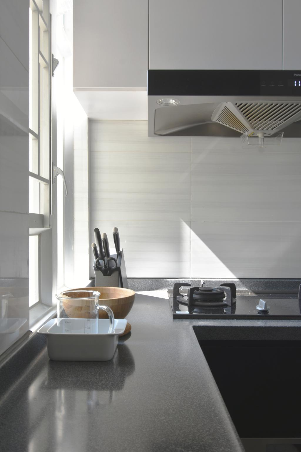 摩登, 私家樓, 廚房, 銀蔚苑, 室內設計師, X Ka Design