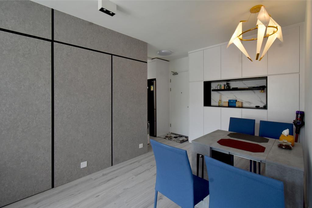 摩登, 私家樓, 飯廳, 銀蔚苑, 室內設計師, X Ka Design