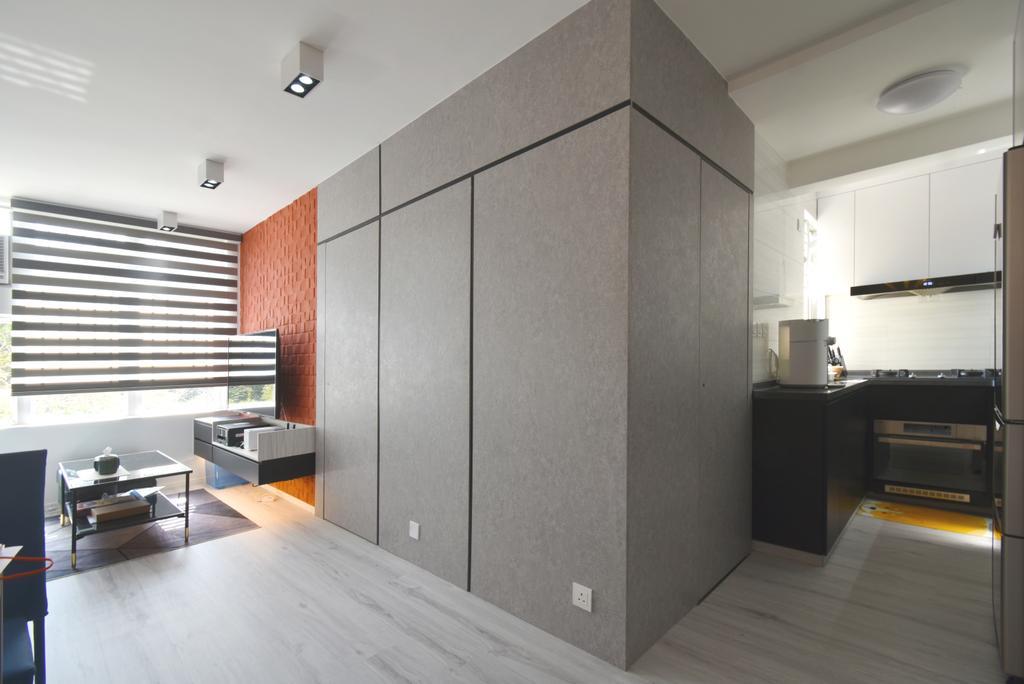 摩登, 私家樓, 客廳, 銀蔚苑, 室內設計師, X Ka Design