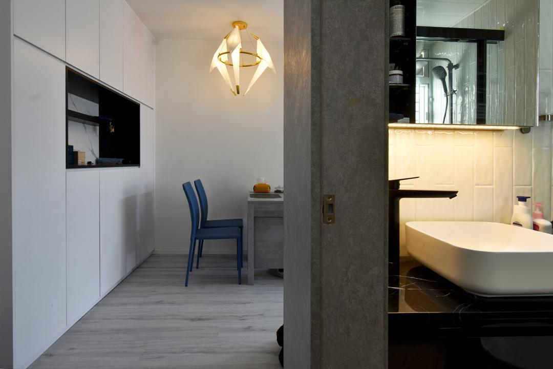 銀蔚苑, X Ka Design, 摩登, 飯廳, 私家樓
