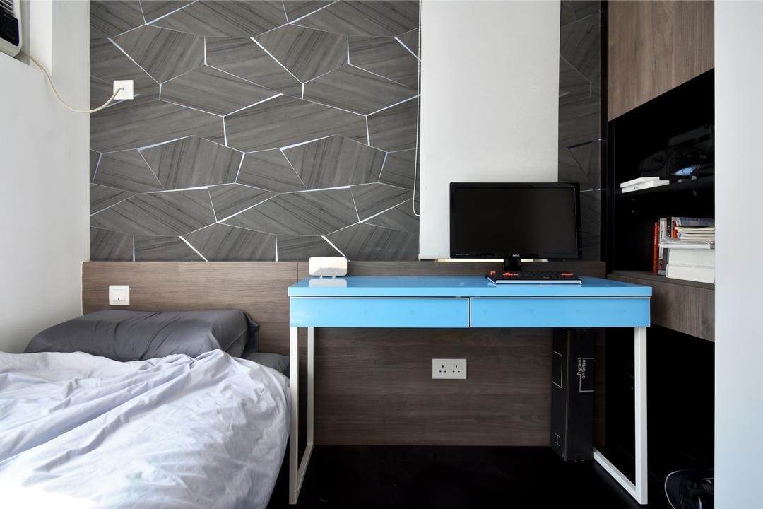 銀蔚苑, X Ka Design, 摩登, 睡房, 私家樓