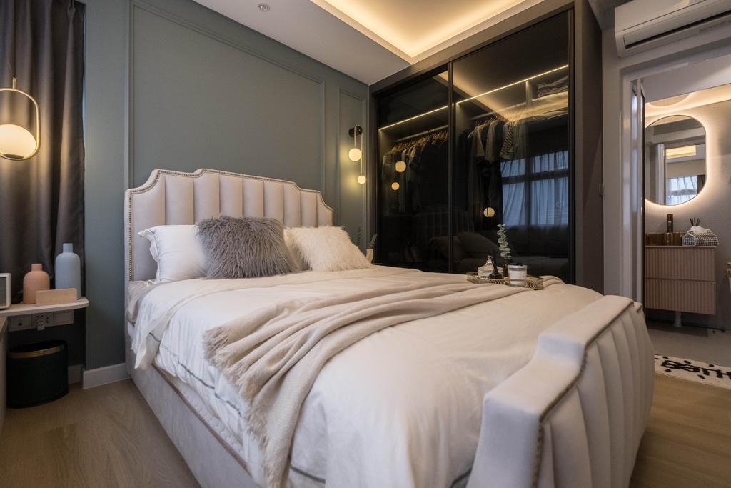 Contemporary, HDB, Bedroom, Teban Gardens, Interior Designer, United Team Lifestyle