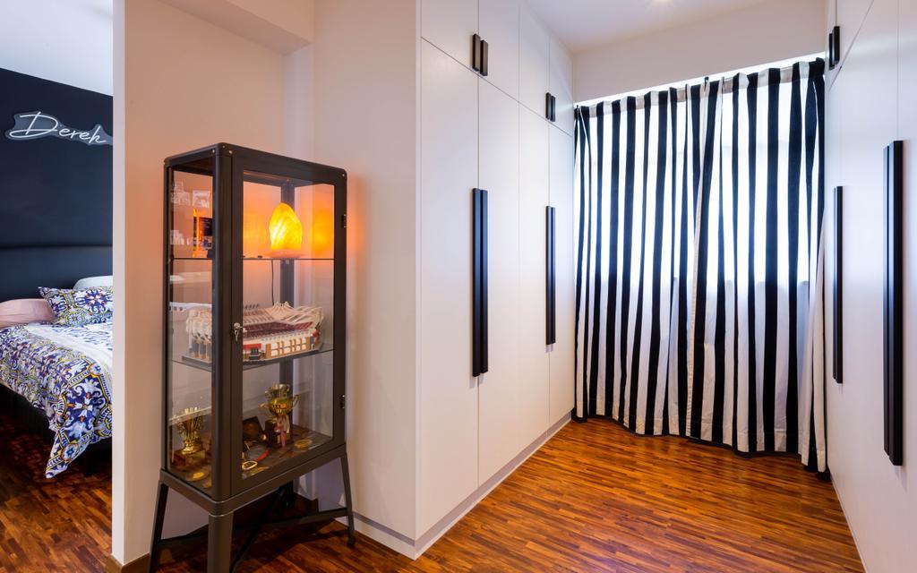Contemporary, HDB, Bedroom, Tampines North Drive 1, Interior Designer, Renex Interior