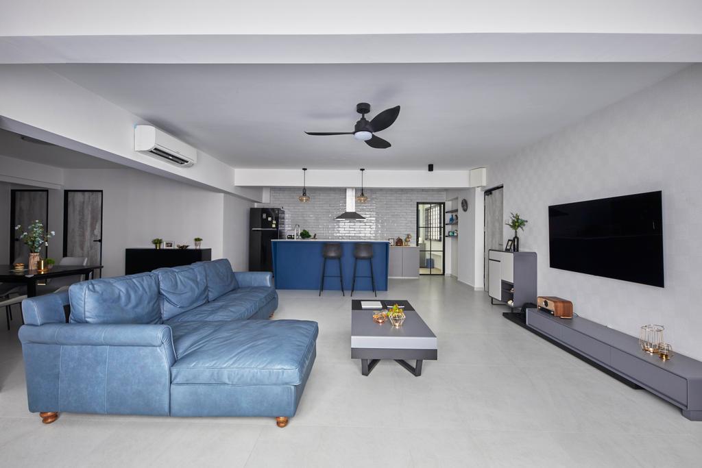 Modern, HDB, Jurong West Street 74, Interior Designer, i-Chapter, Contemporary