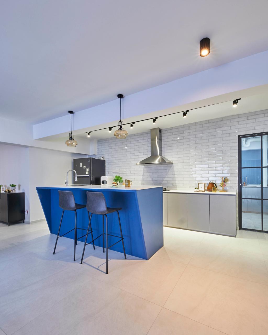 Modern, HDB, Kitchen, Jurong West Street 74, Interior Designer, i-Chapter, Contemporary