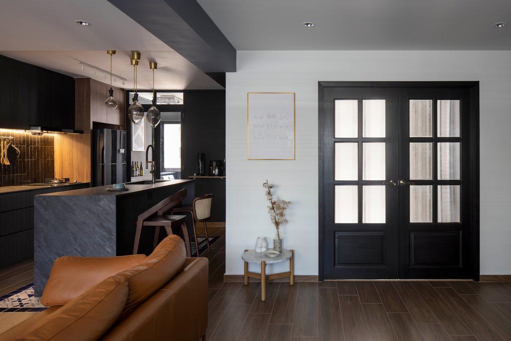 Contemporary, HDB, Living Room, Bishan Street 22, Interior Designer, Fifth Avenue Interior, Eclectic
