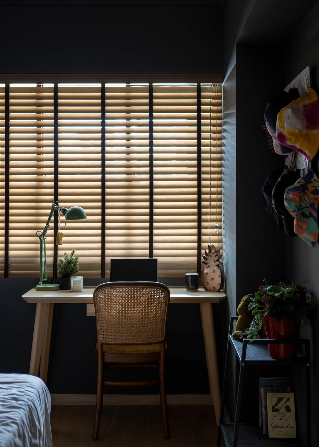 Contemporary, HDB, Study, Bishan Street 22, Interior Designer, Fifth Avenue Interior, Eclectic