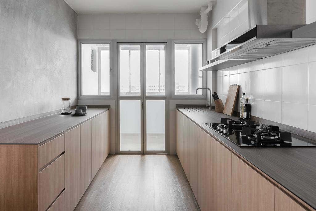 Contemporary, HDB, Kitchen, Pasir Ris Street 51, Interior Designer, Fifth Avenue Interior