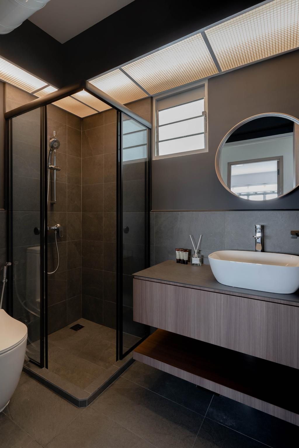 Contemporary, HDB, Bathroom, Pasir Ris Street 51, Interior Designer, Fifth Avenue Interior