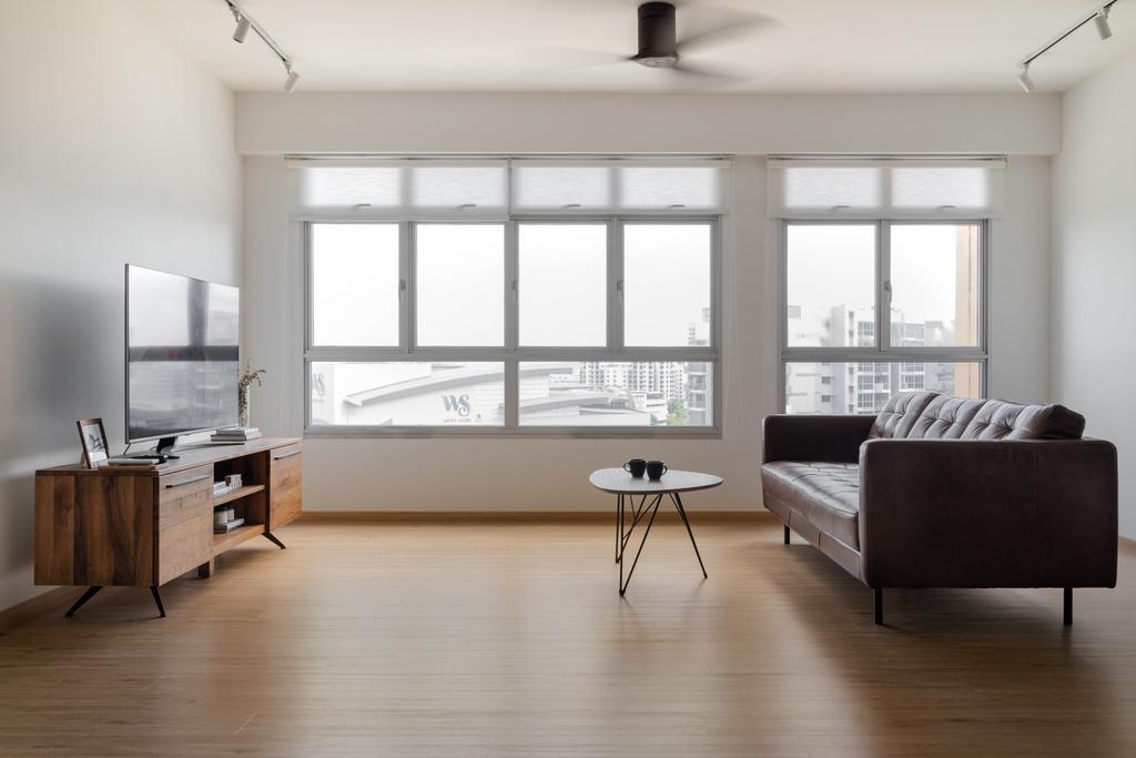 Contemporary, HDB, Living Room, Pasir Ris Street 51, Interior Designer, Fifth Avenue Interior