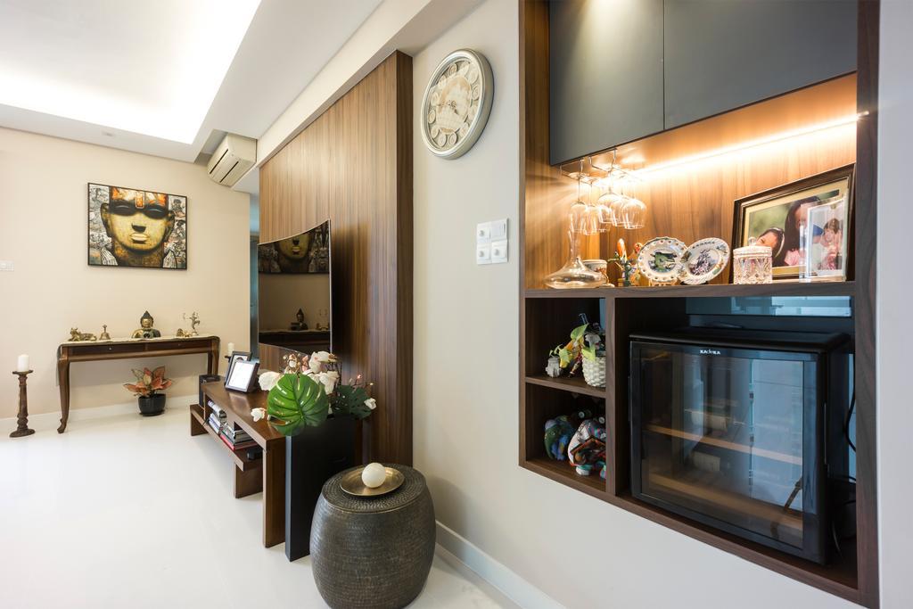 Contemporary, Condo, Living Room, One Amber, Interior Designer, Flo Design
