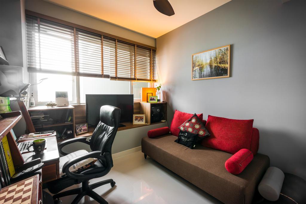 Contemporary, Condo, Study, One Amber, Interior Designer, Flo Design
