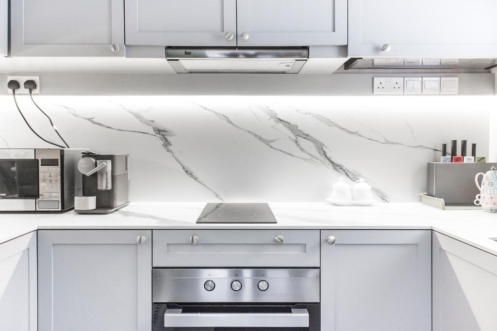 Contemporary, Condo, Kitchen, North Park Residences, Interior Designer, Flo Design