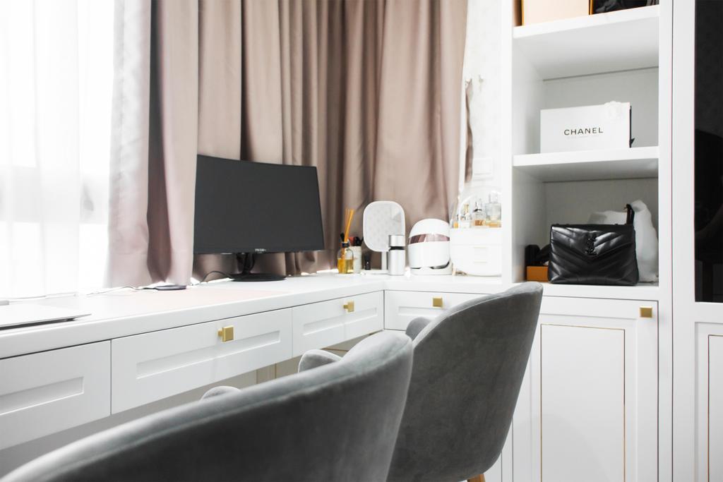 Contemporary, Condo, North Park Residences, Interior Designer, Flo Design