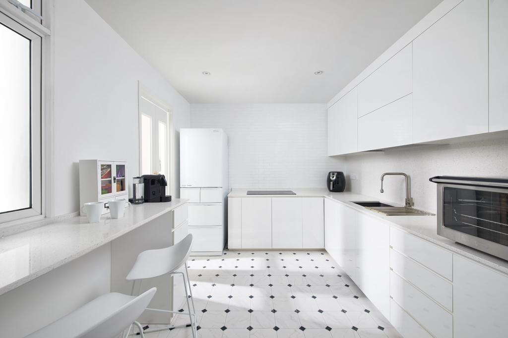 Modern, Condo, Kitchen, Moonstone View, Interior Designer, Ovon Design, Minimalistic