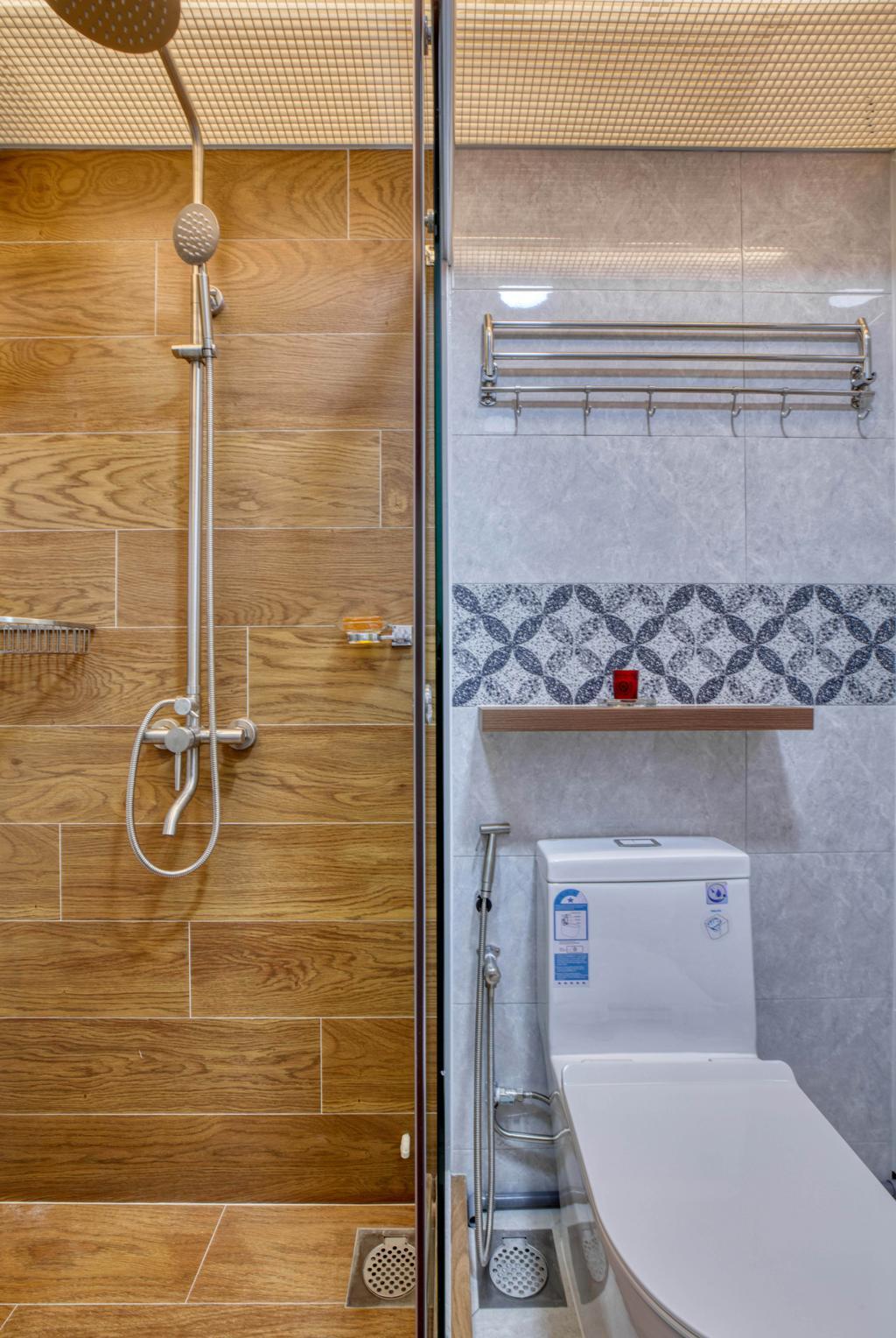 Modern, HDB, Bathroom, Bidadari Park Drive, Interior Designer, Carpenter Direct, Scandinavian