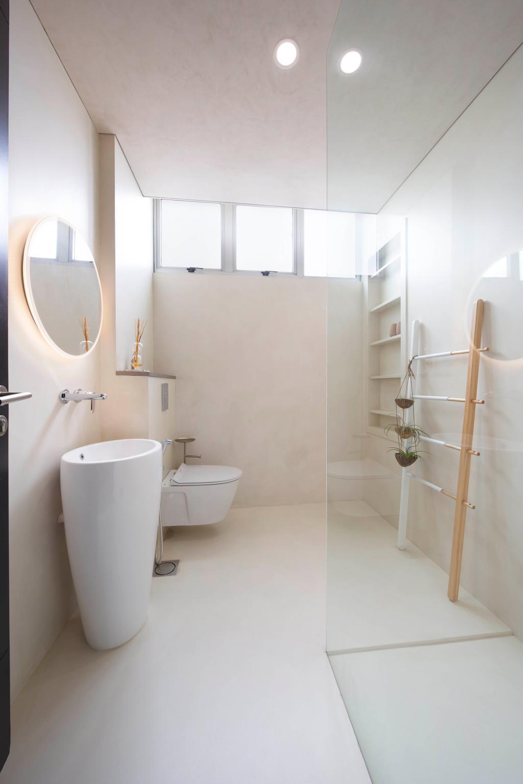 Modern, Condo, Bathroom, Zion Road, Interior Designer, Spire Id