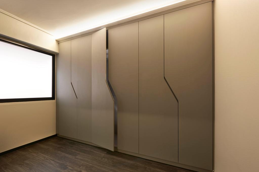 Modern, HDB, Bedroom, Hougang, Interior Designer, Spire Id, Contemporary