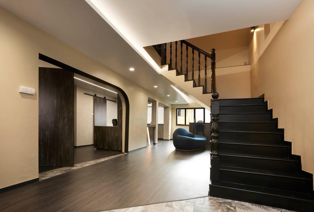 Modern, HDB, Living Room, Hougang, Interior Designer, Spire Id, Contemporary