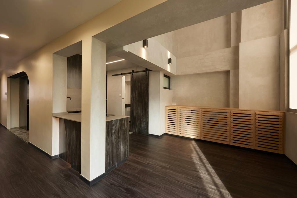 Modern, HDB, Kitchen, Hougang, Interior Designer, Spire Id, Contemporary