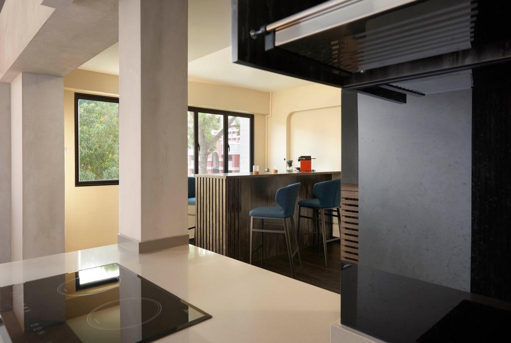 Modern, HDB, Dining Room, Hougang, Interior Designer, Spire Id, Contemporary
