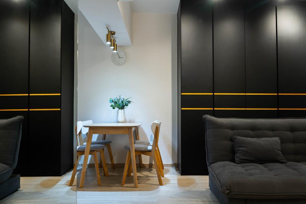 Contemporary, HDB, Dining Room, Potong Pasir Avenue 3, Interior Designer, Hashtag Interior