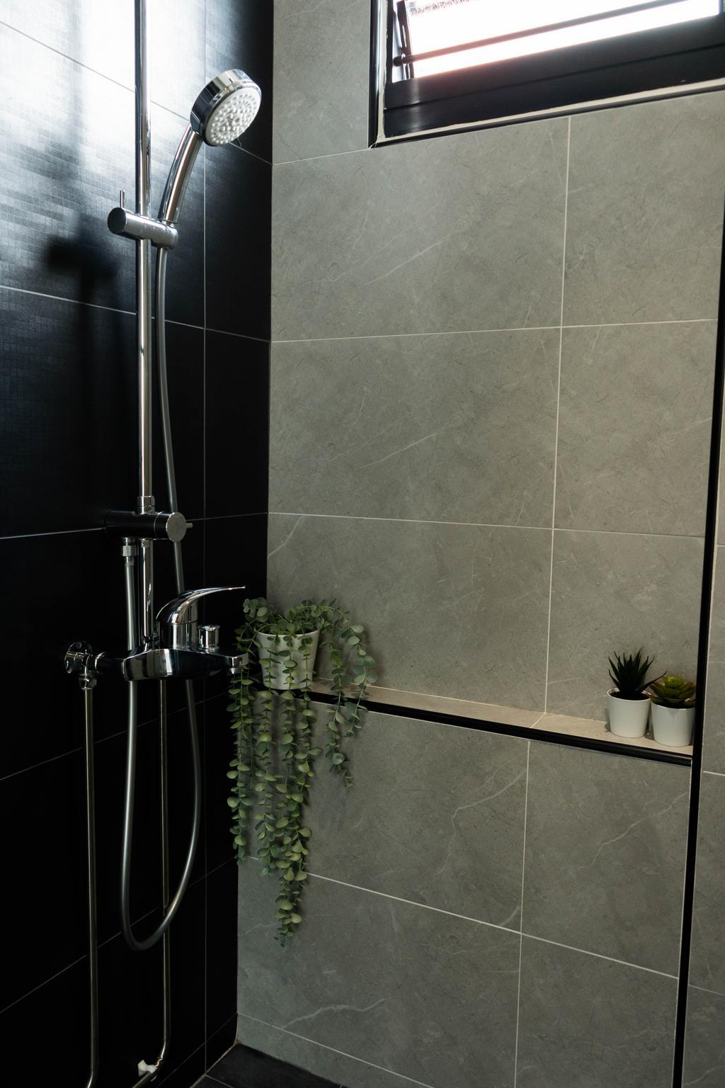 Contemporary, HDB, Bathroom, Potong Pasir Avenue 3, Interior Designer, Hashtag Interior