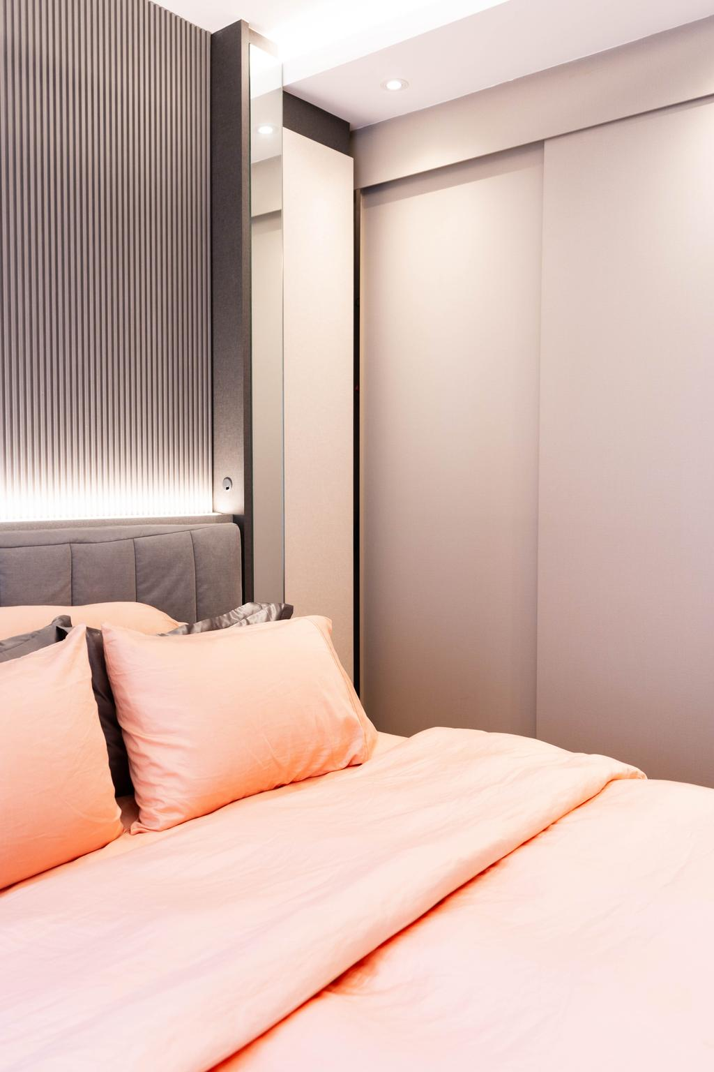 Modern, Condo, Bedroom, Hundred Palms Residences, Interior Designer, Hashtag Interior, Contemporary