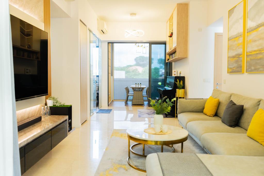Modern, Condo, Living Room, Seventy St. Patrick's, Interior Designer, Hashtag Interior