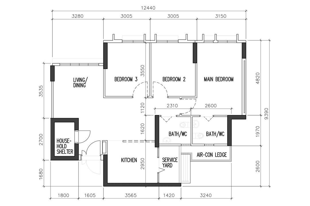 Bidadari BTO HDB flat renovation