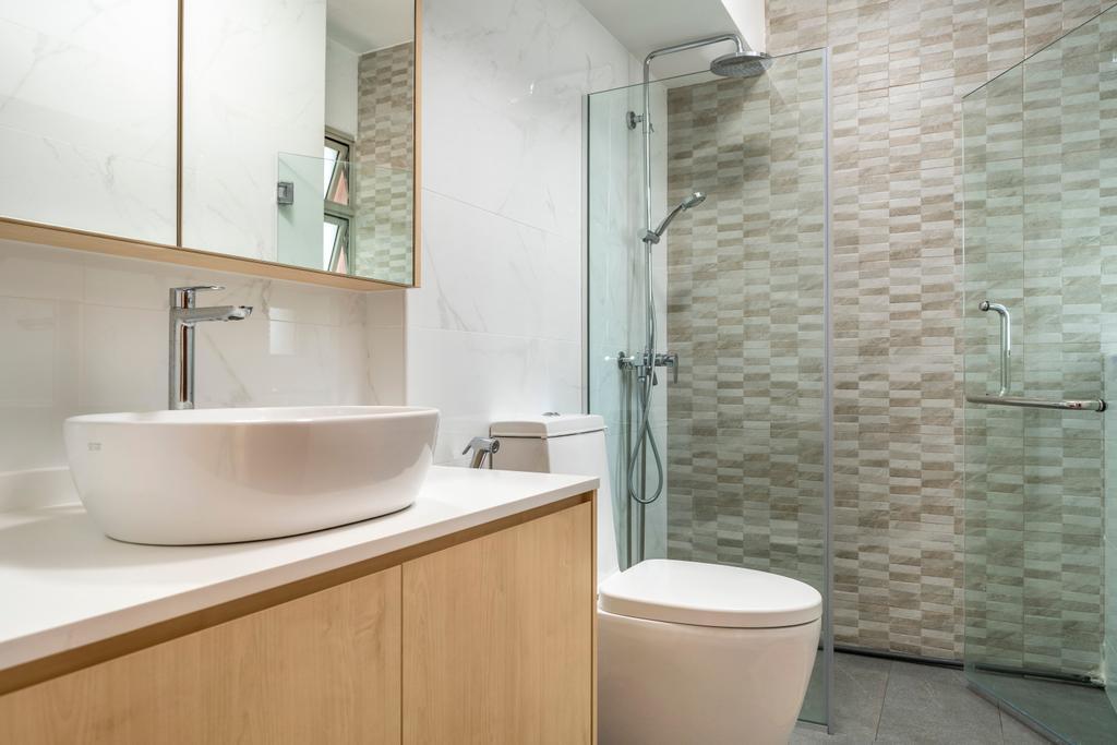 Modern, HDB, Bathroom, Sengkang Central, Interior Designer, Arteloft, Scandinavian