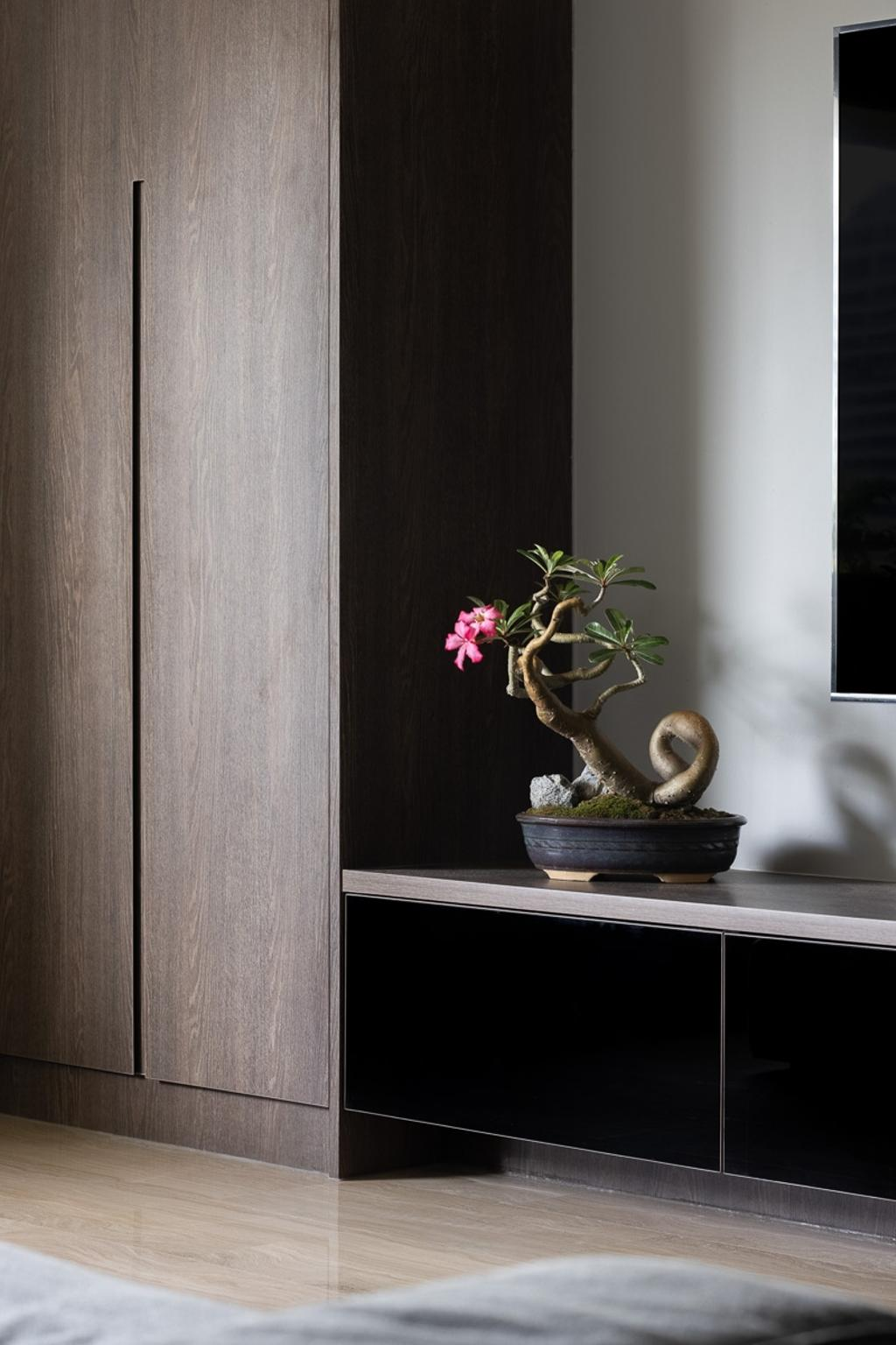 Contemporary, Condo, Living Room, Queensway Tower, Interior Designer, Anhans Interior Design