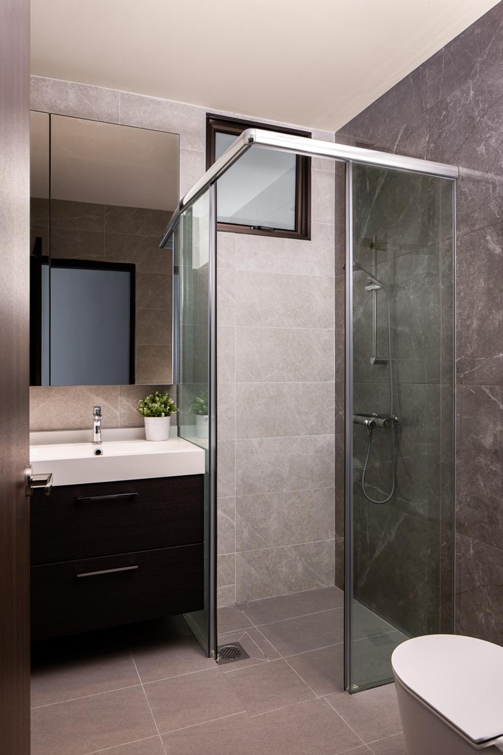 Contemporary, Condo, Bathroom, Queensway Tower, Interior Designer, Anhans Interior Design