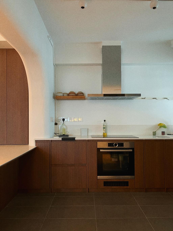 Contemporary, HDB, Kitchen, Northshore Drive, Interior Designer, Ascend Design, Scandinavian