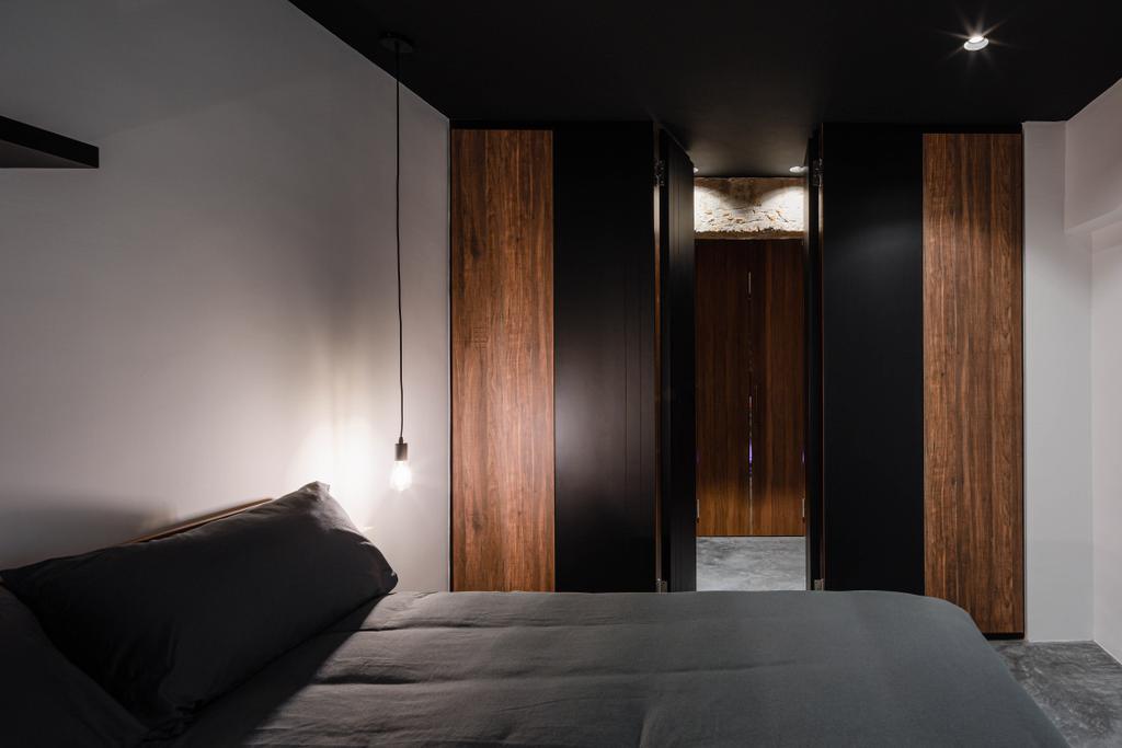 Contemporary, HDB, Bedroom, Potong Pasir, Interior Designer, Insight.Out Studio, Industrial