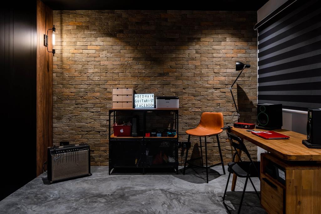 Contemporary, HDB, Potong Pasir, Interior Designer, Insight.Out Studio, Industrial