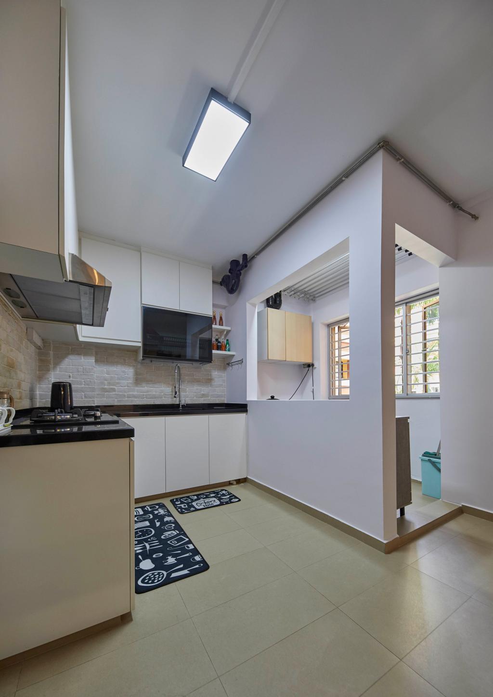 Modern, HDB, Kitchen, Tampines Street 83, Interior Designer, i-Chapter