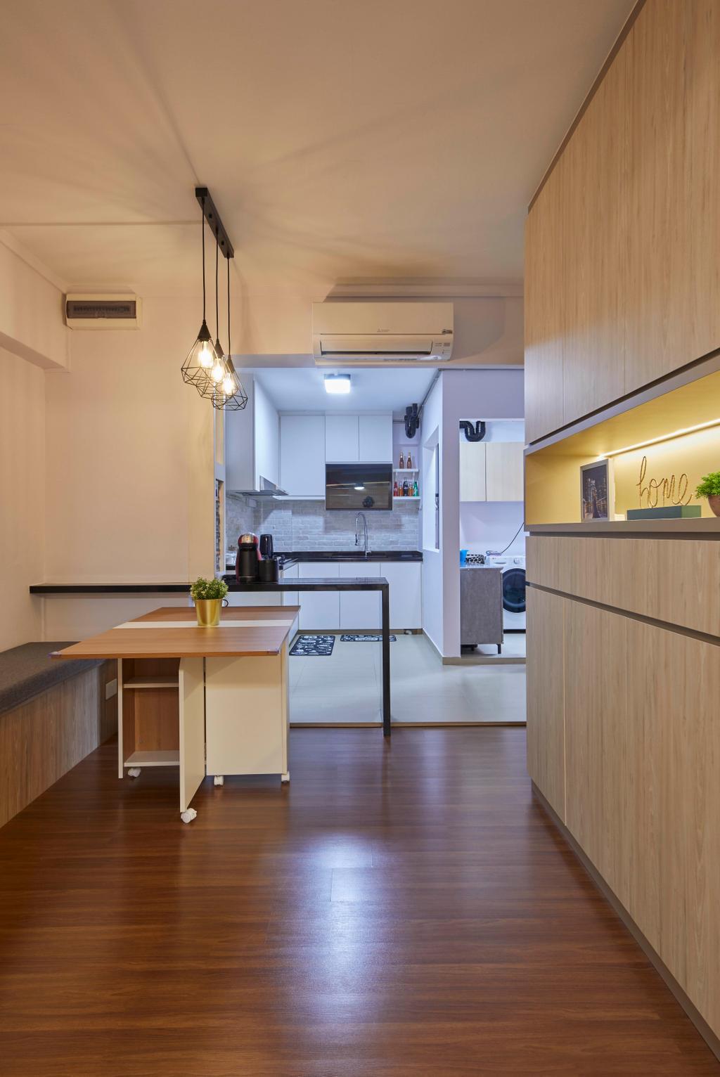 Modern, HDB, Living Room, Tampines Street 83, Interior Designer, i-Chapter